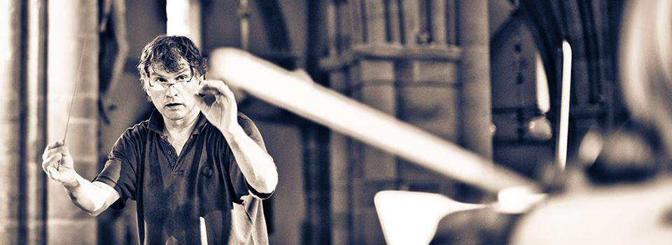 Chorleiter Prof. Dr. Helmut Freitag